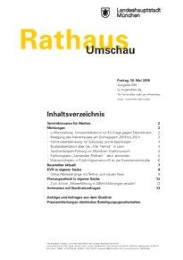Rathaus Umschau 94 / 2018