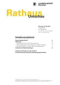 Rathaus Umschau 95 / 2018