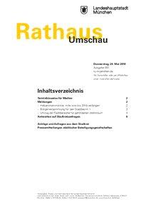 Rathaus Umschau 97 / 2018