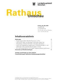 Rathaus Umschau 98 / 2018
