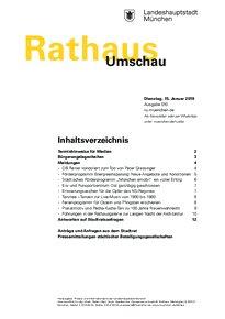 Rathaus Umschau 10 / 2019
