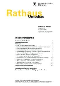 Rathaus Umschau 102 / 2019