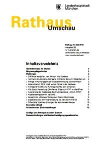 Rathaus Umschau 103 / 2019