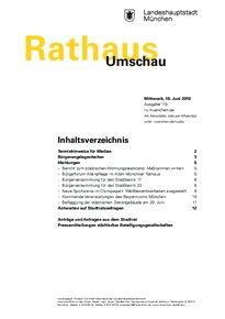 Rathaus Umschau 115 / 2019