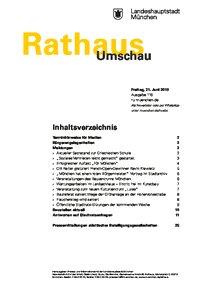 Rathaus Umschau 116 / 2019