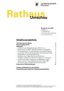 Rathaus Umschau 117 / 2019