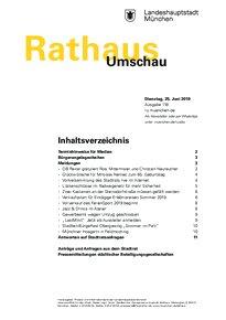 Rathaus Umschau 118 / 2019