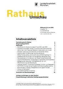 Rathaus Umschau 119 / 2019
