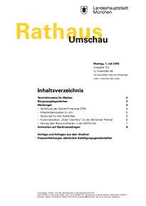 Rathaus Umschau 122 / 2019