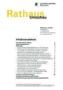 Rathaus Umschau 124 / 2019
