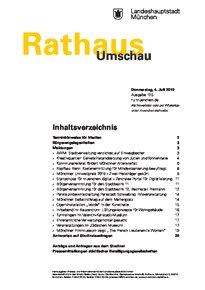 Rathaus Umschau 125 / 2019