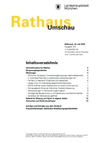 Rathaus Umschau 129 / 2019