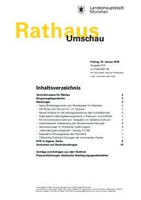 Rathaus Umschau 13 / 2019
