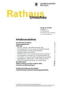 Rathaus Umschau 131 / 2019