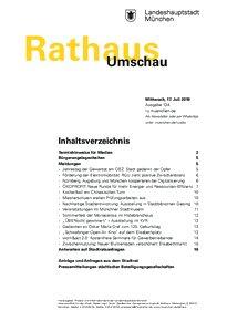 Rathaus Umschau 134 / 2019