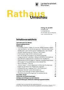 Rathaus Umschau 136 / 2019