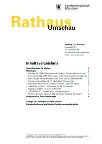 Rathaus Umschau 137 / 2019