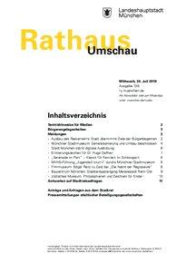 Rathaus Umschau 139 / 2019