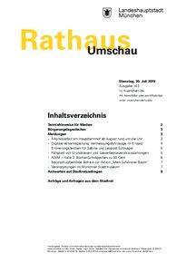 Rathaus Umschau 143 / 2019