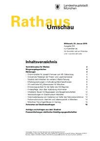 Rathaus Umschau 16 / 2019