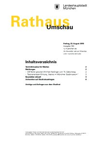 Rathaus Umschau 160 / 2019