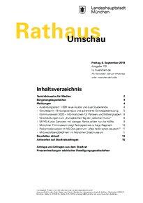 Rathaus Umschau 170 / 2019