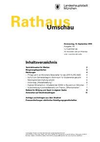 Rathaus Umschau 174 / 2019