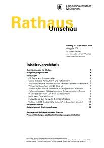 Rathaus Umschau 175 / 2019