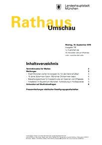 Rathaus Umschau 176 / 2019