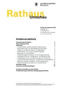 Rathaus Umschau 180 / 2019