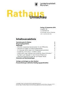 Rathaus Umschau 185 / 2019
