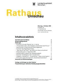Rathaus Umschau 187 / 2019