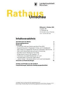 Rathaus Umschau 188 / 2019