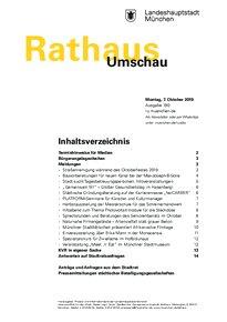 Rathaus Umschau 190 / 2019
