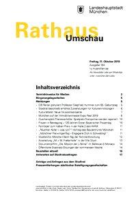 Rathaus Umschau 194 / 2019