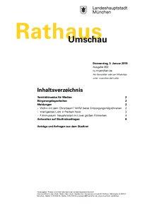 Rathaus Umschau 2 / 2019