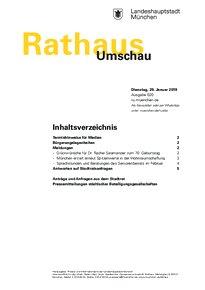 Rathaus Umschau 20 / 2019