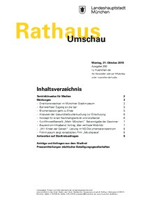 Rathaus Umschau 200 / 2019