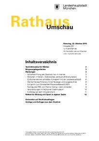 Rathaus Umschau 201 / 2019