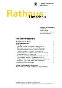 Rathaus Umschau 207 / 2019