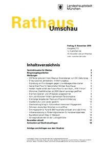 Rathaus Umschau 213 / 2019
