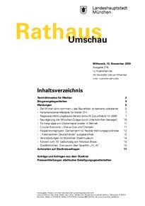 Rathaus Umschau 216 / 2019
