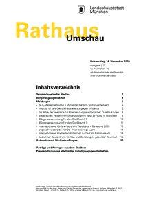 Rathaus Umschau 217 / 2019