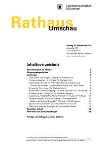 Rathaus Umschau 218 / 2019