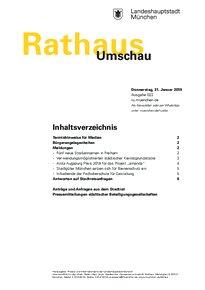 Rathaus Umschau 22 / 2019