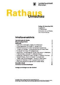 Rathaus Umschau 222 / 2019