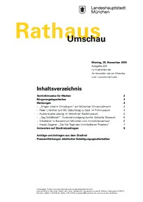 Rathaus Umschau 224 / 2019
