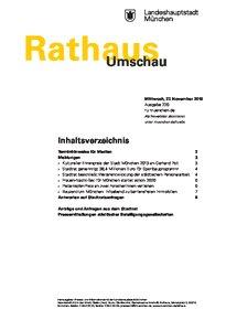 Rathaus Umschau 226 / 2019