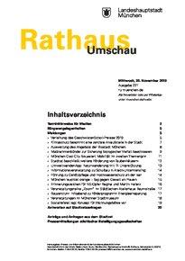 Rathaus Umschau 227 / 2019