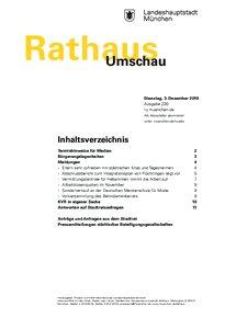 Rathaus Umschau 230 / 2019